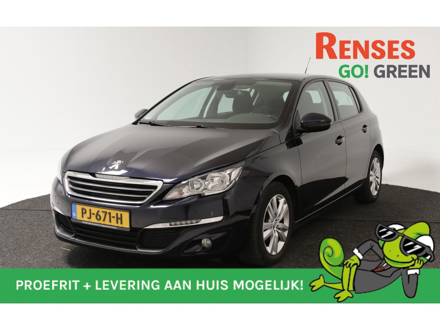 Peugeot 308 1.6 bluehdi blue lease executive