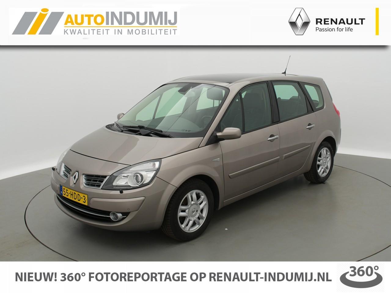 Renault Grand scénic 2.0-16v tech line  // panoramadak // climate // trekhaak // navi