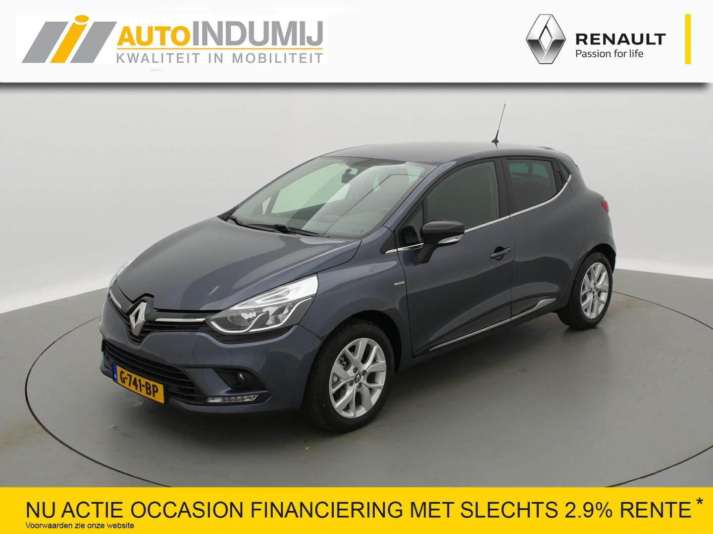 Renault Clio Tce 90 limited // navi / airco / parkeersensoren