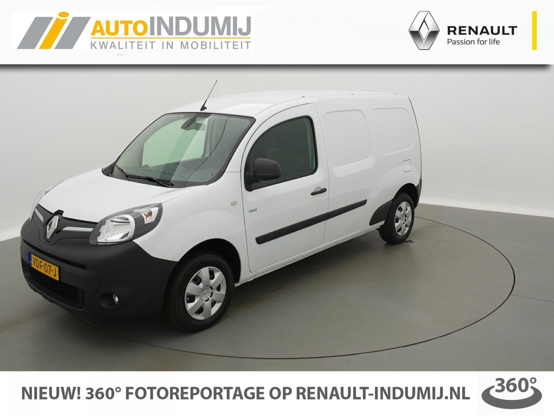 Renault Kangoo Z.e. maxi (batterijhuur) // navi / camera / airco / cruise control
