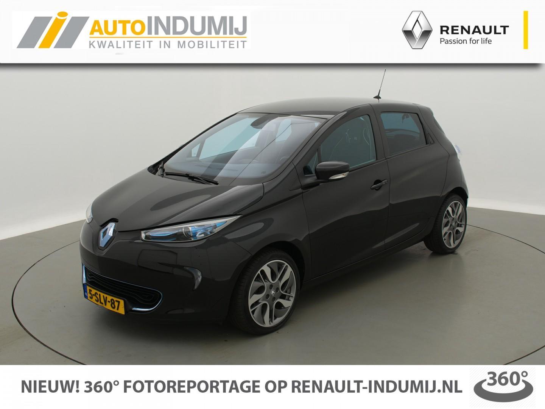Renault Zoe Q210 zen quickcharge 22 kwh (batterijhuur) automaat // navi / camera / bluetooth / 1e eigenaar!
