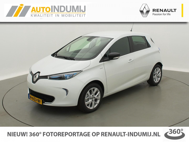 Renault Zoe R110 limited 41 kwh batterijhuur / ex. btw / 4% bijtelling! // stoelverwarming / navi / camera