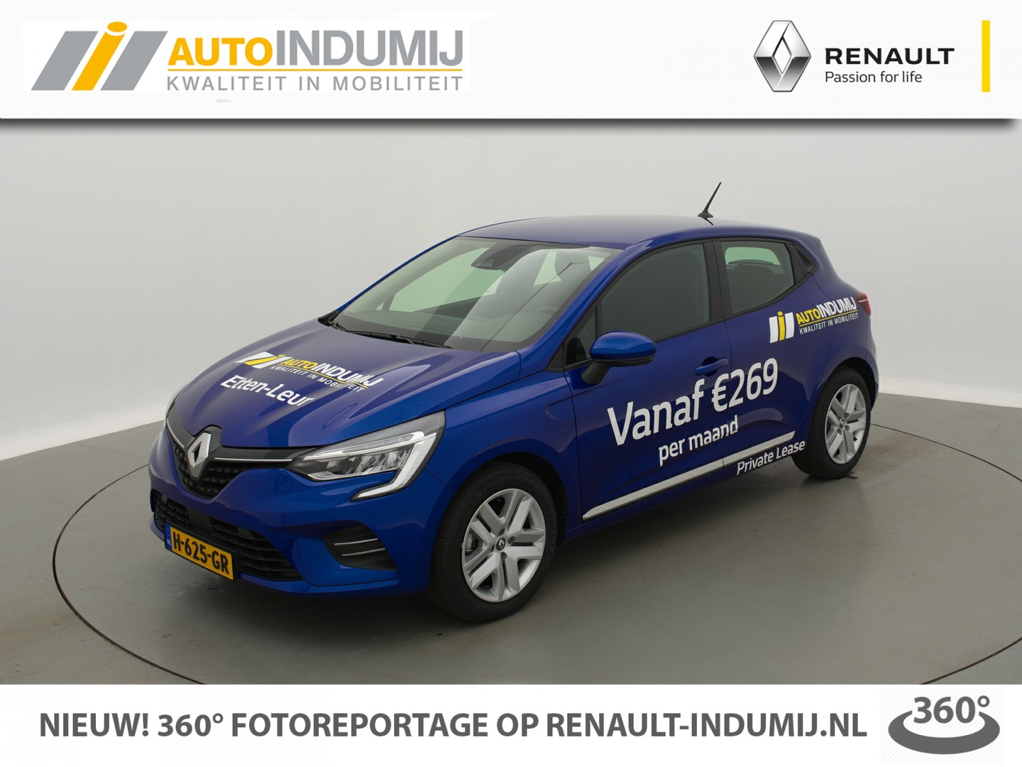 Renault Clio Tce 100 zen // airco / 7'' multimedia systeem / led