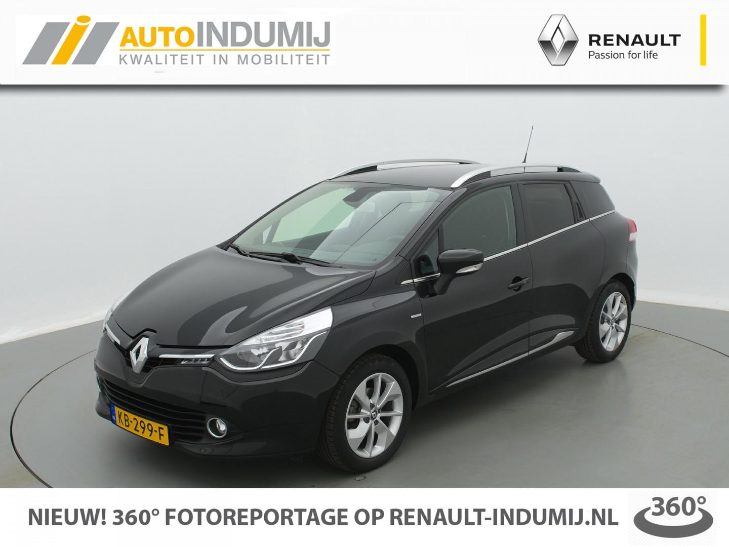 Renault Clio Estate tce 90 limited // camera / climate control / navi / bluetooth