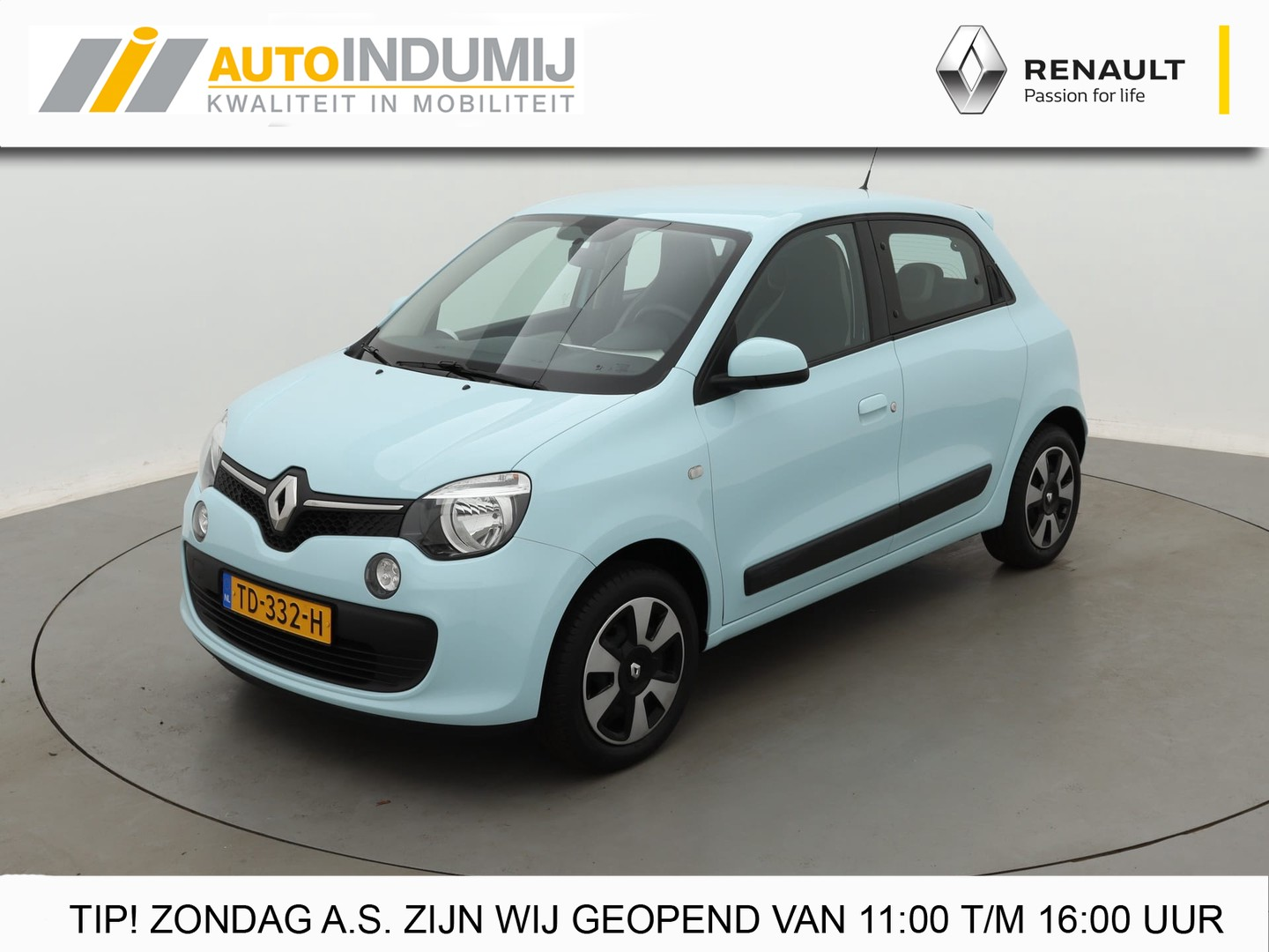 Renault Twingo Sce 70 collection / 1e eigenaar! // airco / bluetooth
