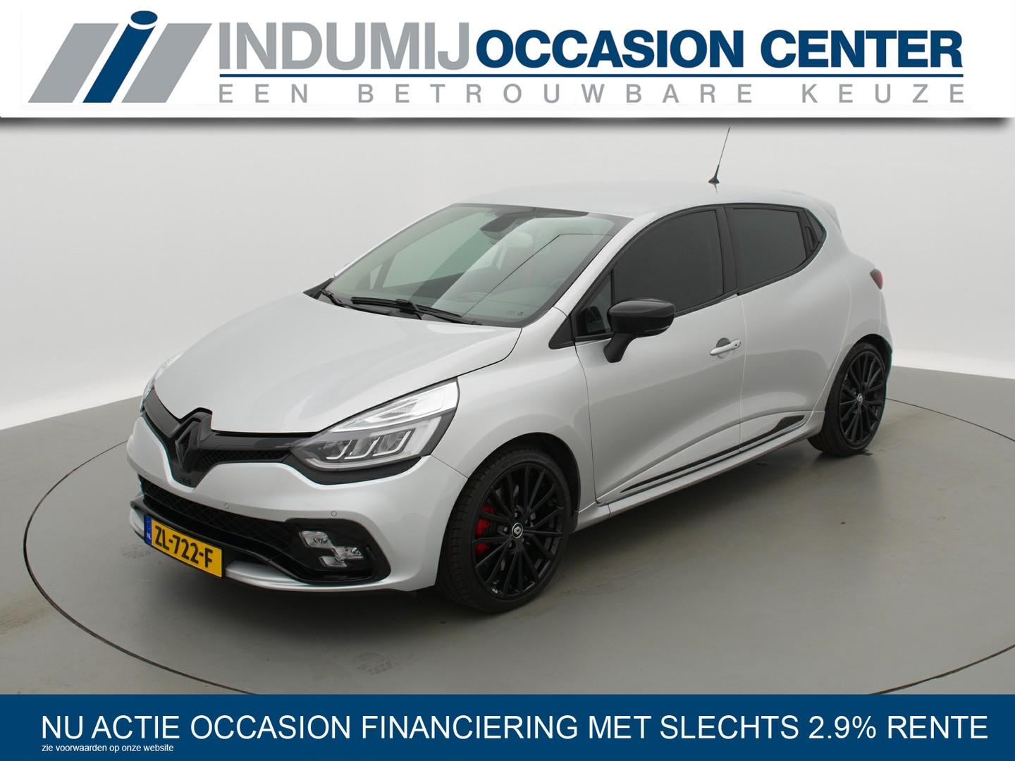 Renault Clio Rs 200 edc automaat // akrapovic / black pack / pack cup chassis / leder / r.s.
