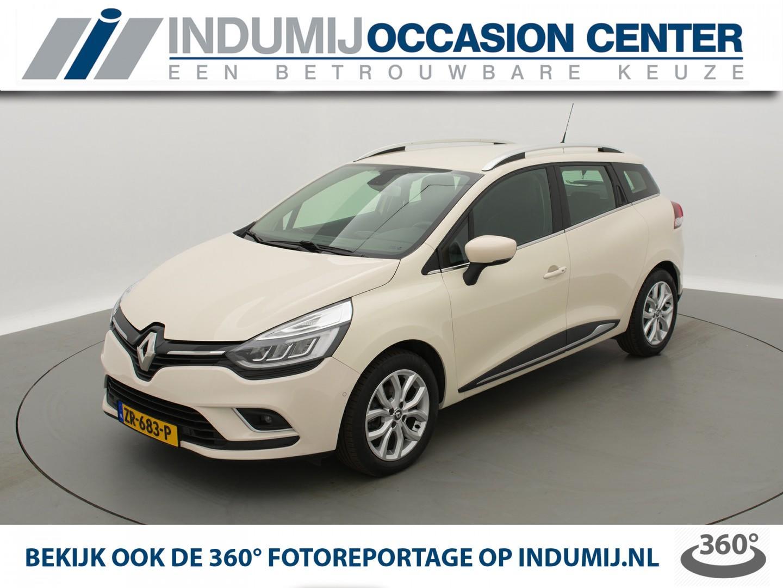 Renault Clio Estate tce 90 intens // navi r-link / camera / half leer / keyless / parkeersensoren / led