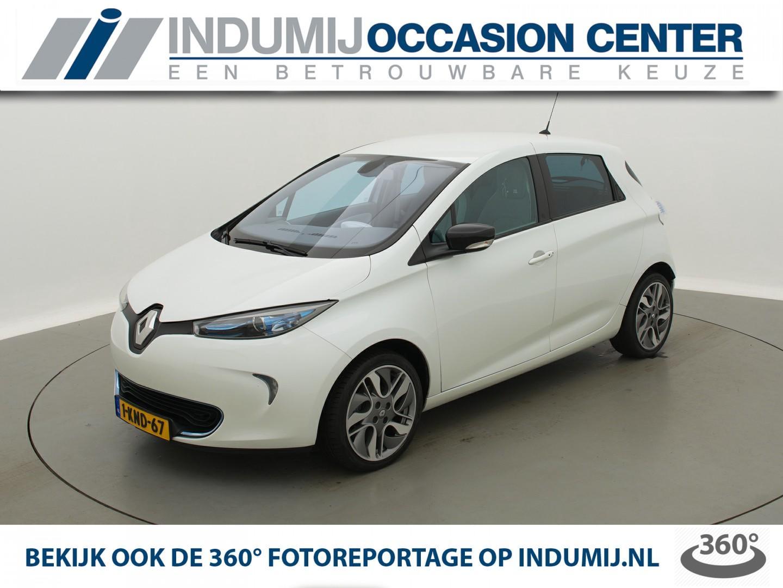Renault Zoe Q210 zen quickcharge 22 kwh (ex accu) let op € 2000,- subsidievoordeel! // navi / cruise / clima / keyless