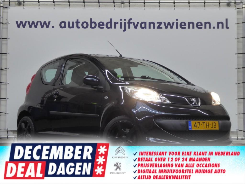 Peugeot 107 Xs - noir - lmv - airco - keurig - ruime instap