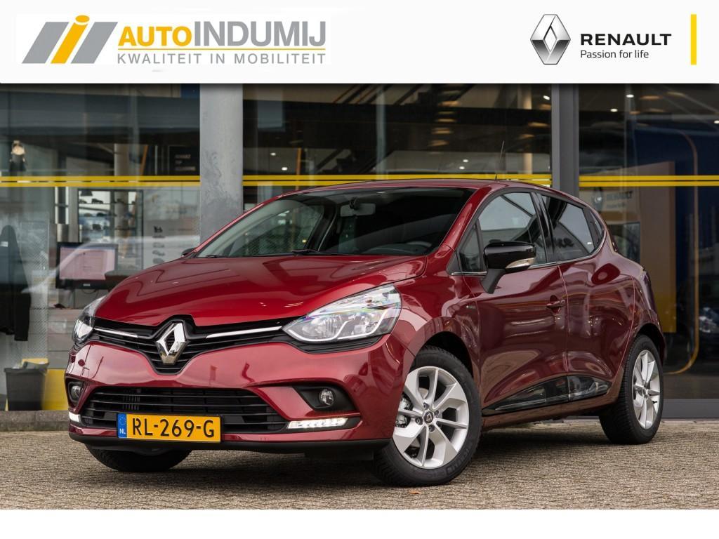 Renault Clio Tce 90 limited / parkeersensoren / armsteun / lichtmetaal