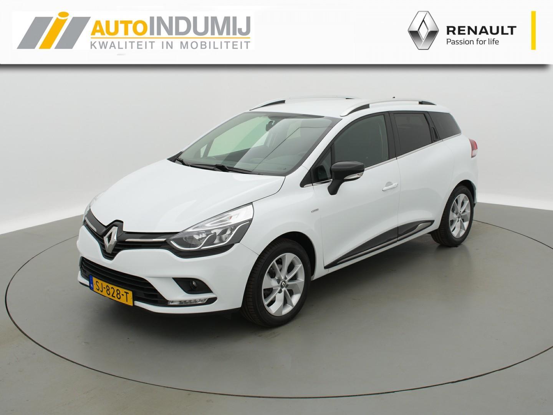 Renault Clio Estate tce 90 limited / navigatie / parkeersensoren / lichtmetaal