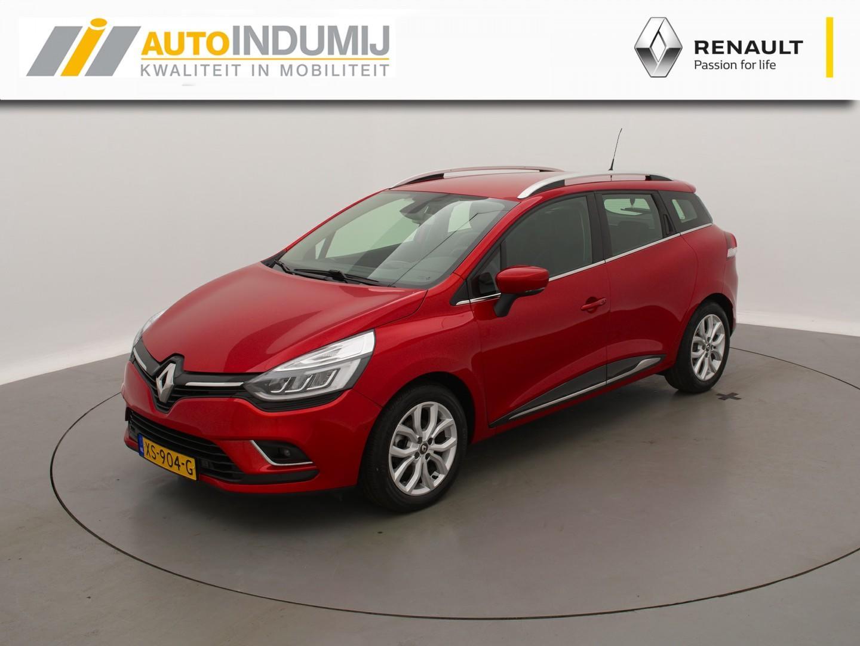 Renault Clio Estate tce 90 intens // inparkeersysteem / parkeersensoren voor en achter / half leder / navigatiesysteem