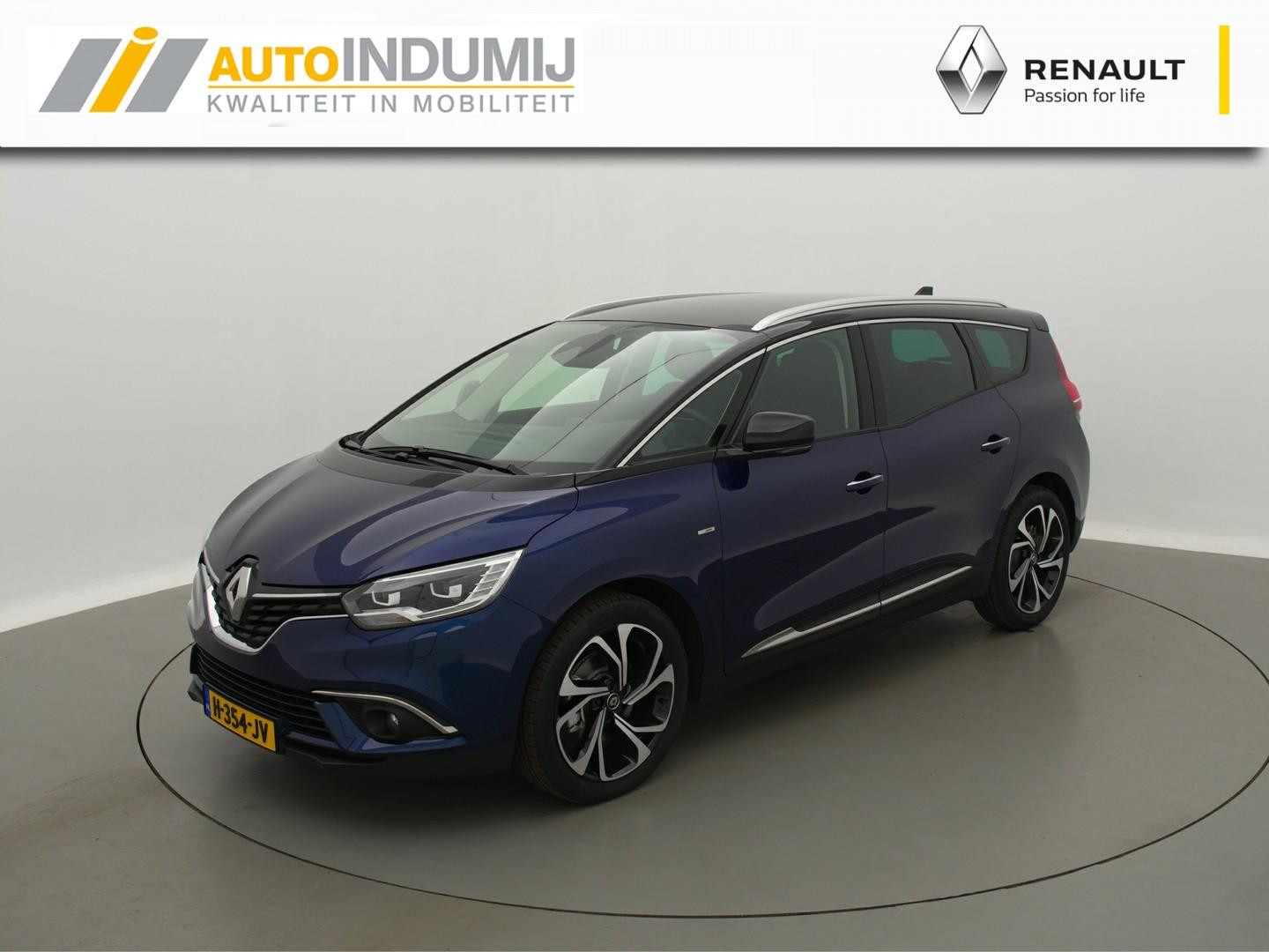 Renault Grand scénic Tce 160 edc bose automaat // camera / stoelverwarming / apple carplay & android auto