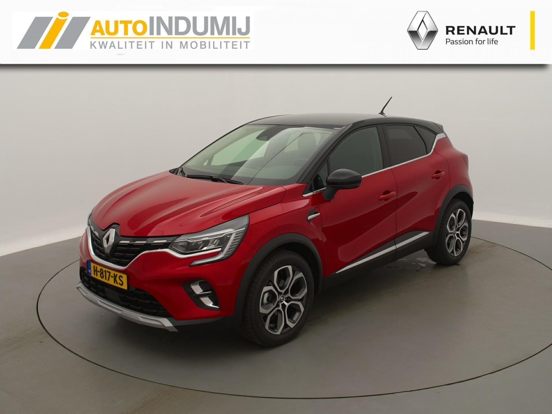 Renault Captur Tce 100 intens // 18 inch pasadena / camera / parkeersensoren / apple carplay