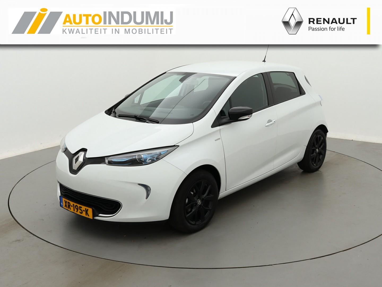 Renault Zoe R110 limited 41 kwh / batterijhuur / armsteun / stoelverwarming / € 2000,- subsidie mogelijk!