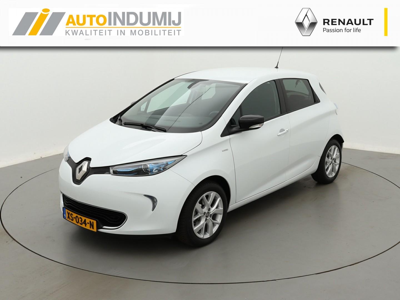 Renault Zoe R110 limited 41 kwh / batterijkoop / michelin all-season banden / € 2.000,- overheidssubsidie mogelijk!