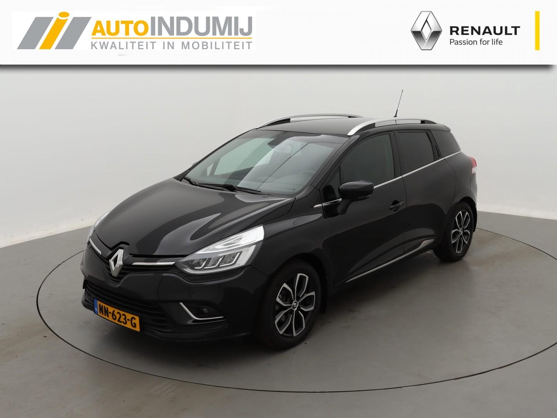 Renault Clio Estate tce 90 intens  / led koplampen / navi / clima / lm 16  inch / parkeersensoren achter / privacy glas achter
