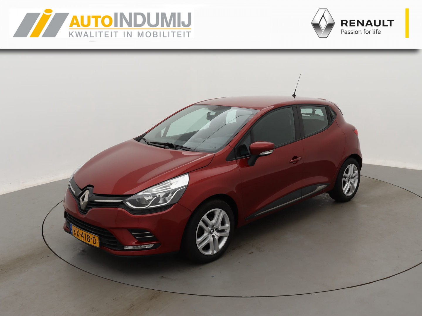 Renault Clio Tce 90 zen  / navi / airco / led dagrijverlichting / cruise control