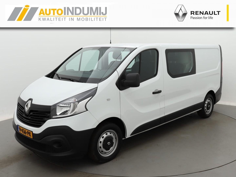 Renault Trafic Dubbele cabine 125pk twinturbo t29 l2h1 comfort (prijs excl. btw) / navigatie / airco / trekhaak