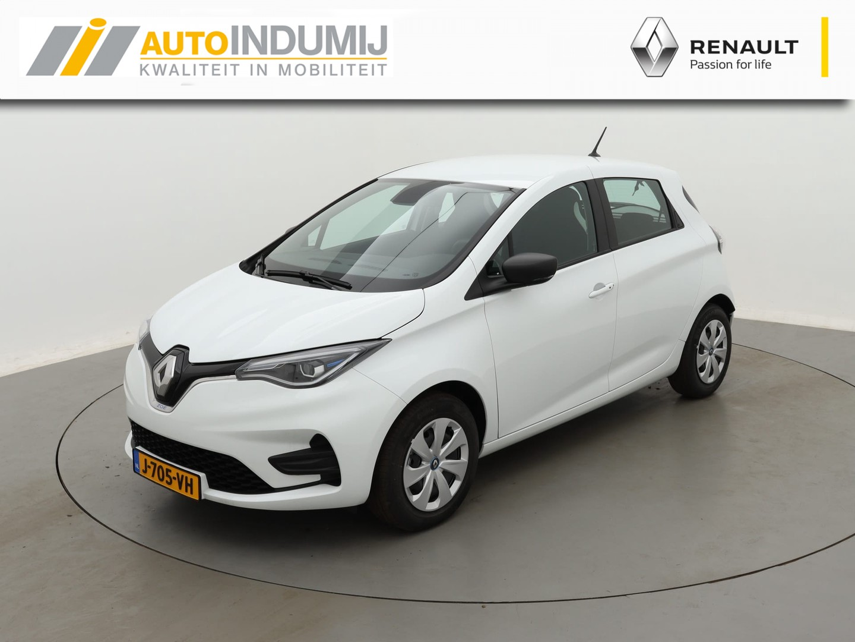 Renault Nieuwe zoe Life 50 (incl. accu) met € 2.000,- subsidie (*info dealer of www.rvo.nl)  / betaalbaar elektrisch rijden / actieradius tot wel 395 km wltp* (*info dealer)