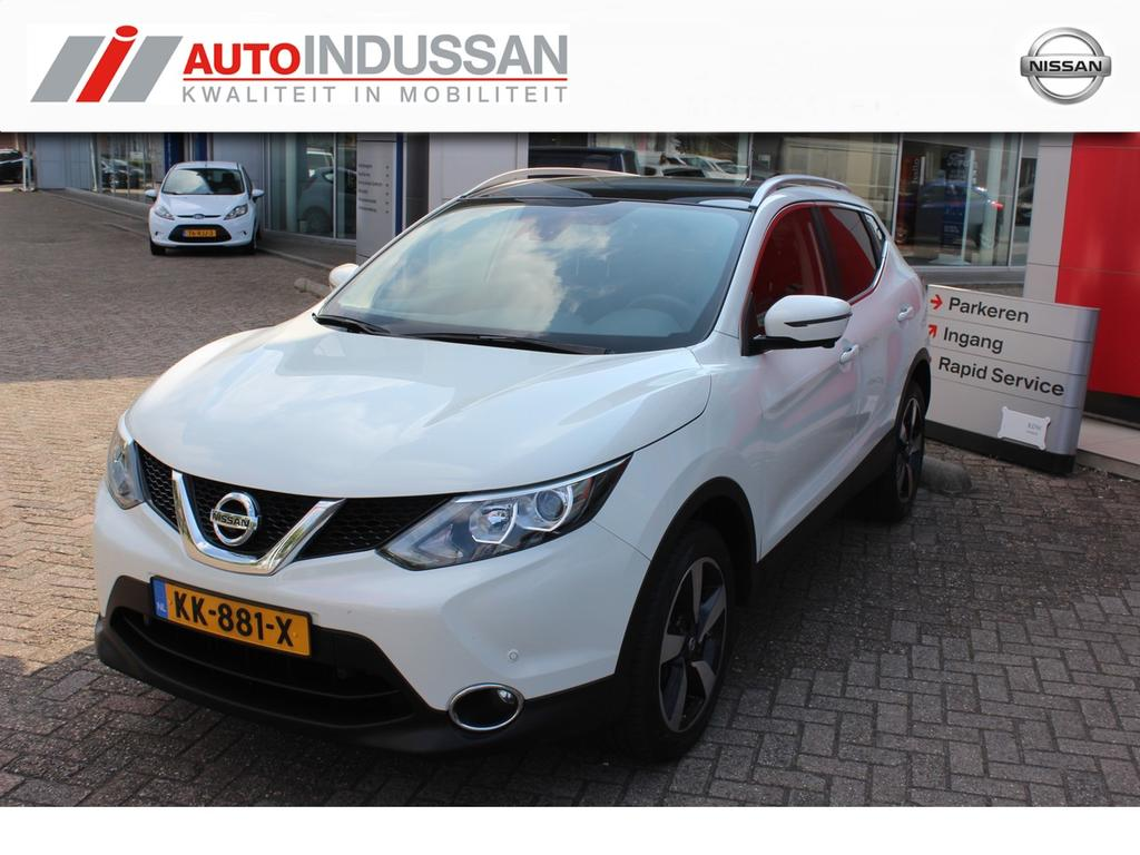 Nissan Qashqai 1.5 dci n-connecta / weinig km!! /panoramadak/ navi