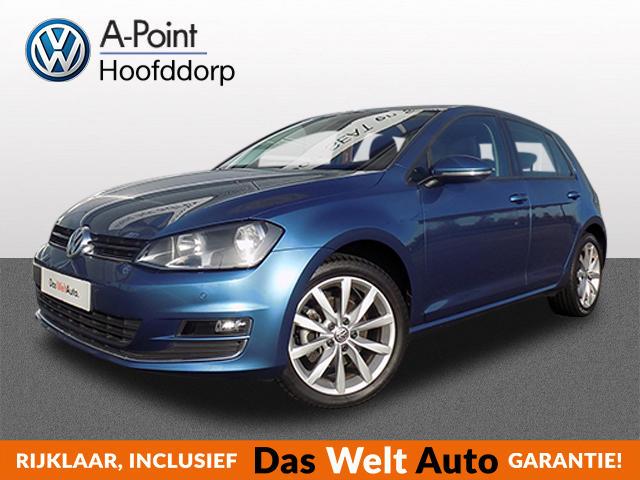 Volkswagen Golf 2.0 tdi 150pk dsg-aut!! highline navi  parksensors met camera alcantara