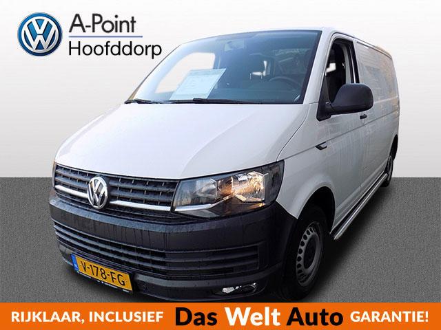 Volkswagen Transporter 2.0 tdi 102pk l1h1 airco trekhaak sidebars