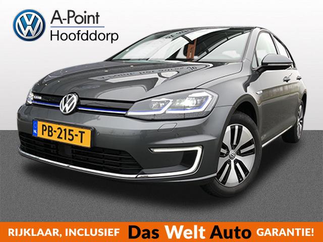 Volkswagen Golf E-golf 136pk! aut 4%bijtelling 40.280,- navi   ledkoplampen   lmvelgen 25900ex btw = 31.339,- incl btw