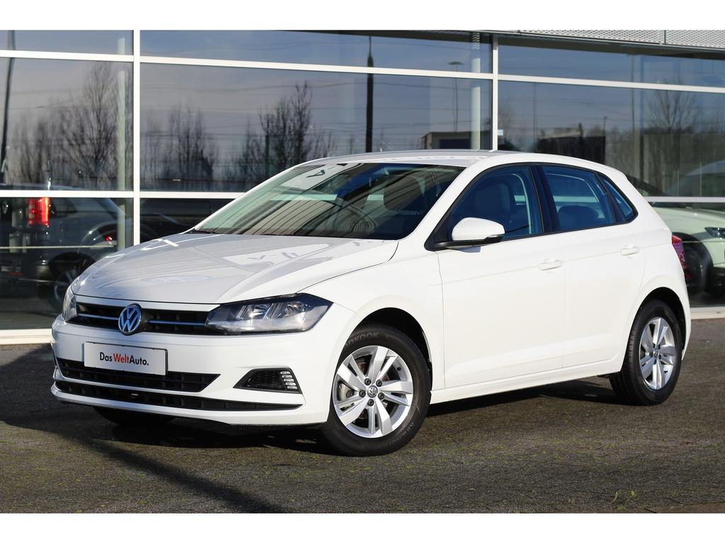 Volkswagen Polo 1.0 tsi 95pk cmfrt nwste model! lmvelgen airco  mf stuur fabrieksgarantie tot maart 2021!