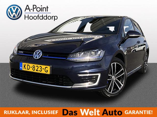Volkswagen Golf 1.4 tsi gte incl btw!!!!! =21233ex btw led-koplampen navi alarm systeem 15%bijtelling 15% over 38.724,- tot augustus 2021!!