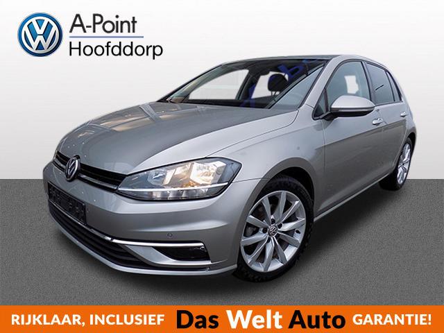 Volkswagen Golf 1.0 tsi 110pk 6bak comfortline navi alarm parksensors lmvelgen fabrieksgarantie tot november 2021!