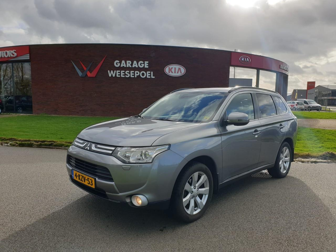 Mitsubishi Outlander 2.2 di-d instyle 4wd 150pk automaat 7 zitter