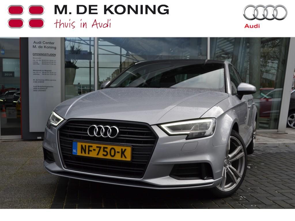 "Audi A3 Limousine 1.0tfsi lease edition optiekpakket zwart + 18"""