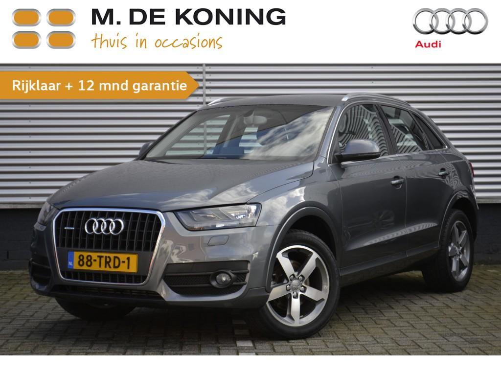 """Audi Q3 2.0 tfsi quattro pro line 170pk navigatie, 18""""lm"""