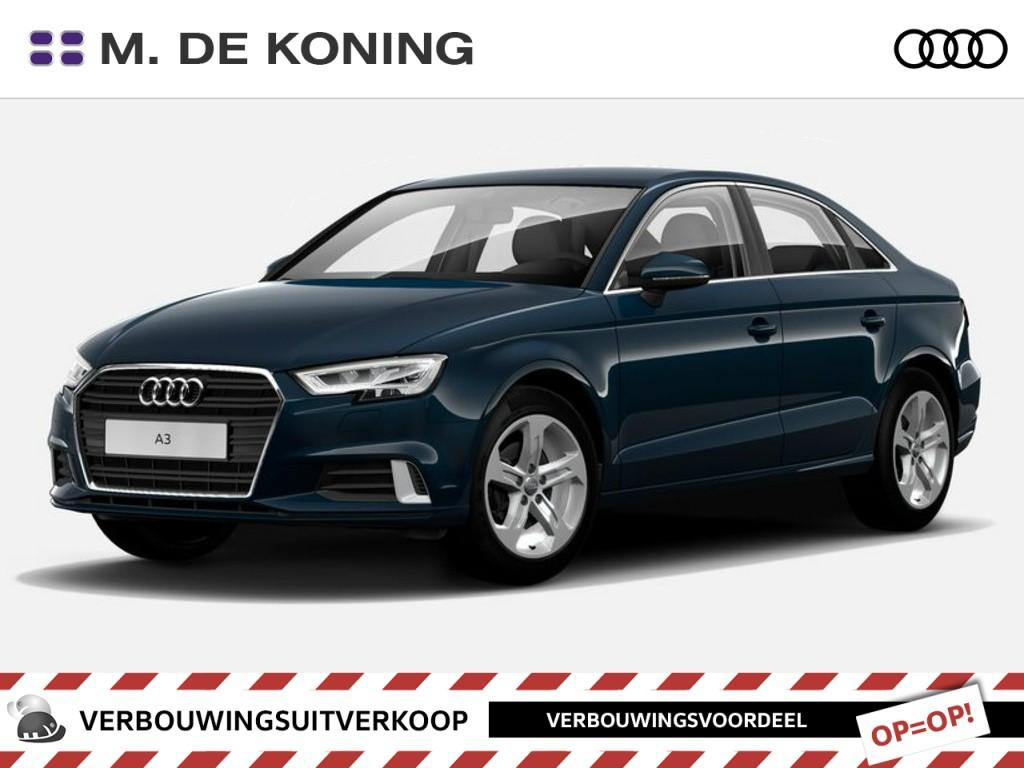 Audi A3 Limousine 1.0tfsi/115pk lease edition · navigatiesysteem · connected services · sportonderstel