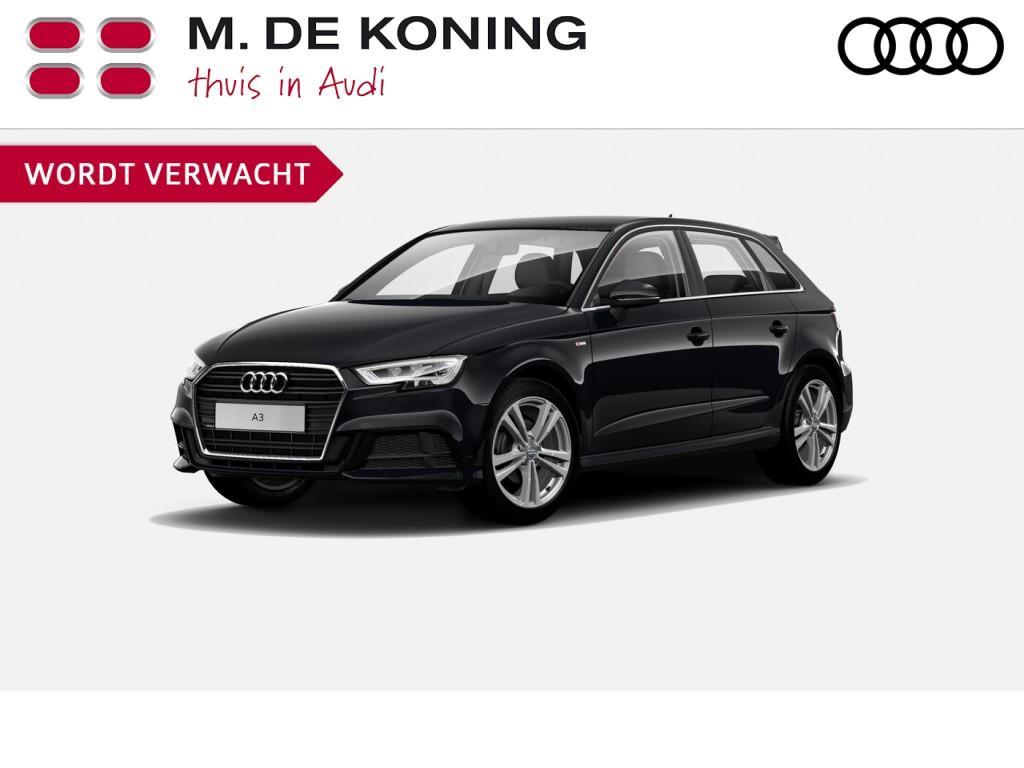 "Audi A3 Sportback s line edition 1.0tfsi/116pk · cruise control · navigatie · 18""lm velgen"