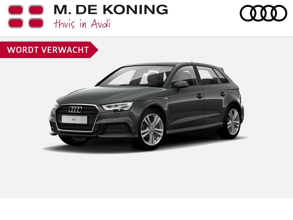 "Audi A3 Sportback s line edition 1.0tfsi/116pk · cruise control · 18""lm velgen · parkeersensoren"