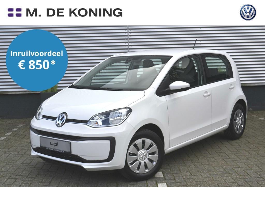 Volkswagen Up! Move up! 1.0/60pk · airco · dab+ radio · buitenspiegels verwarmd