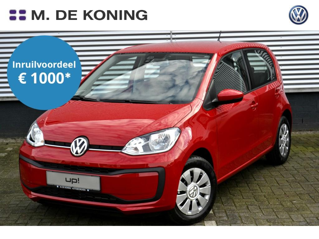 Volkswagen Up! Move up! 1.0/60pk · dab+ radio · led dagrijverlichting · airco