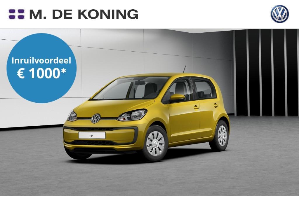 Volkswagen Up! Move up! 1.0/60pk · executive-pakket · airco · centrale deurvergrendeling