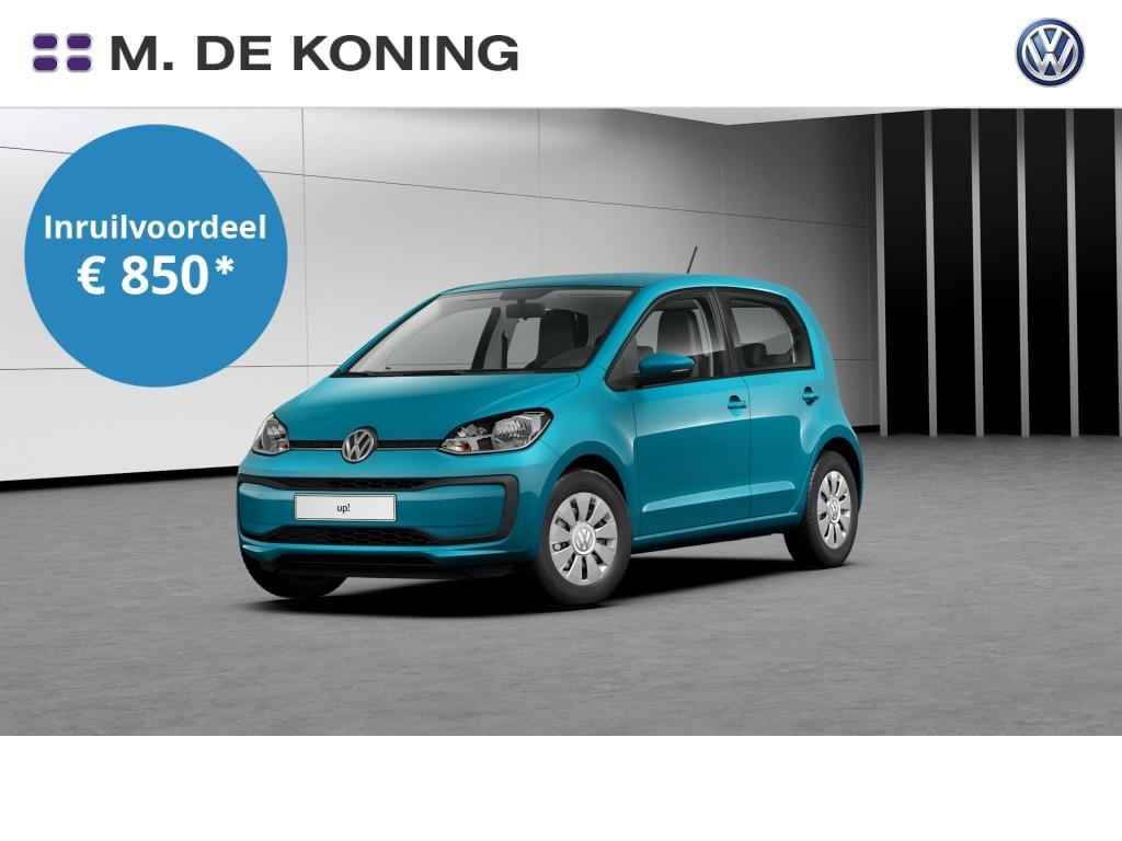 Volkswagen Up! Move up! 1.0/60pk · airco · regensensor · telefoonintegratie