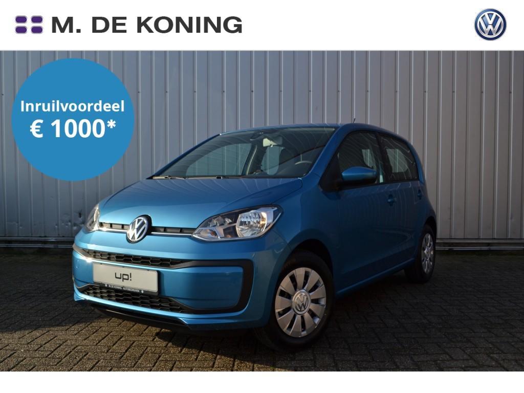 Volkswagen Up! Move up! · dab+ radio · airco · multimedia voorbereiding