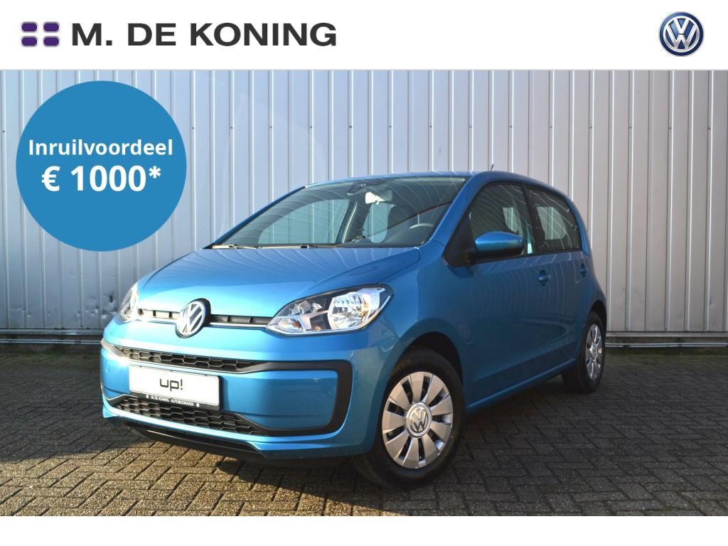 Volkswagen Up! Move up! 1.0/60pk · airco · dab+ radio · elektrische ramen