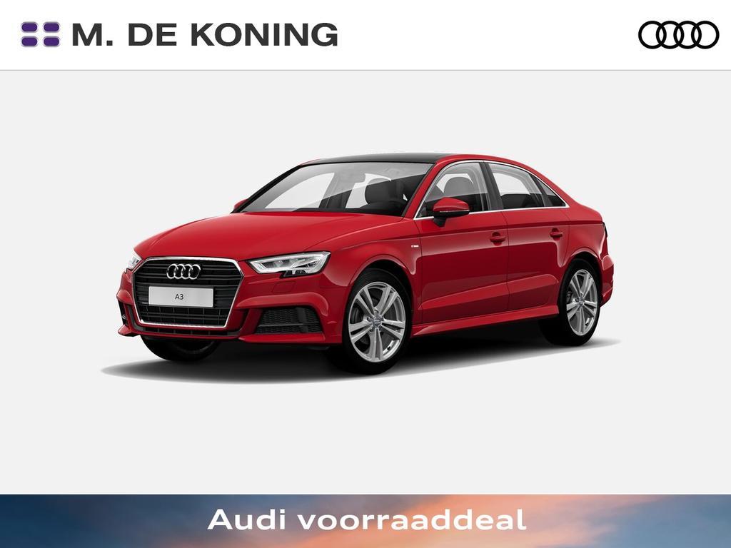 "Audi A3 Limousine 1.5tfsi/150pk sport s line edition · led verlichting · panoramadak · 18""lm velgen"