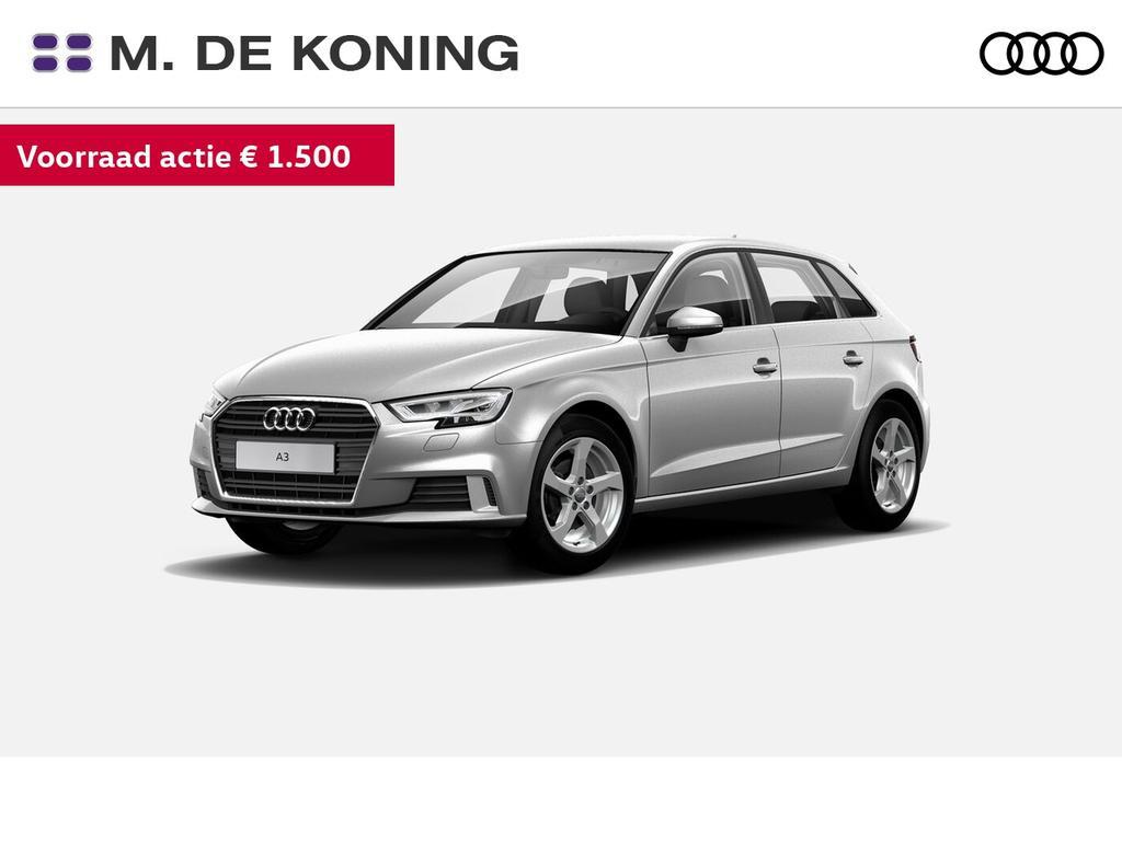 Audi A3 Sportback 30tfsi/115pk lease edition · connected services · led koplampen · sportstoelen