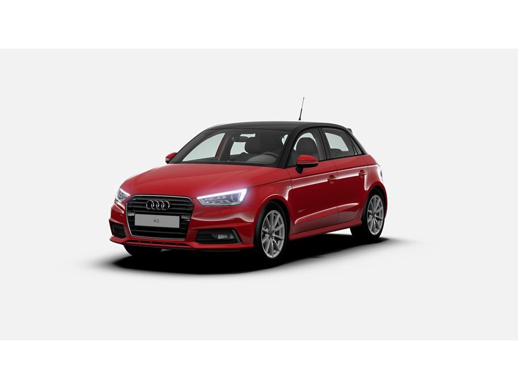 "Audi A1 Sportback 1.0tfsi/95pk advance sport · s-line · bi-xenon · 17""lm velgen"