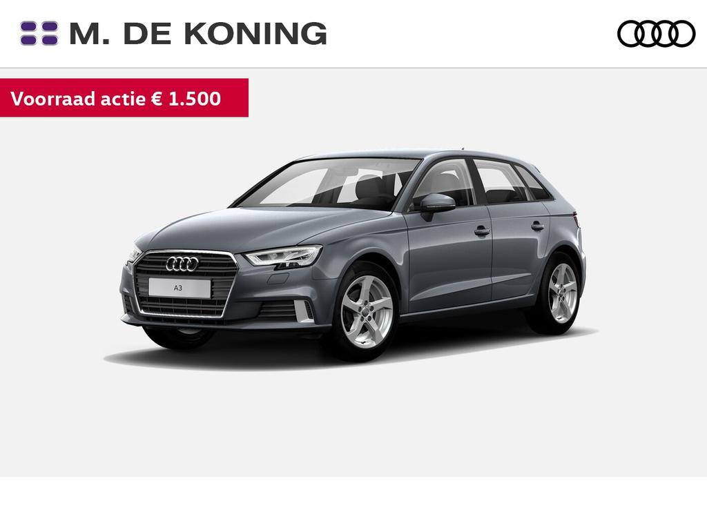 Audi A3 Sportback 30tfsi/116pk lease edition · led koplamen · automatische airconditioning · wegrijassistent