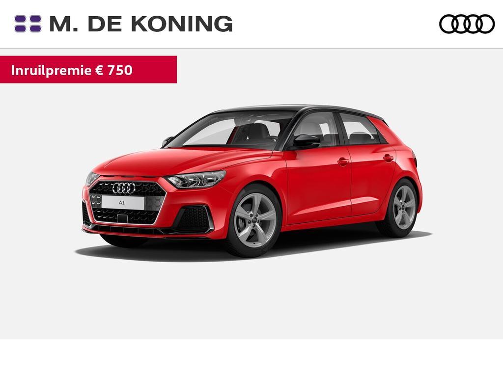 Audi A1 Sportback sportback (a02) epic 2018 30 tfsi 85 kw / 116 pk sportback 7 versn. s-tronic · smartphone interface · parkeersensoren achter · virtual cockpit