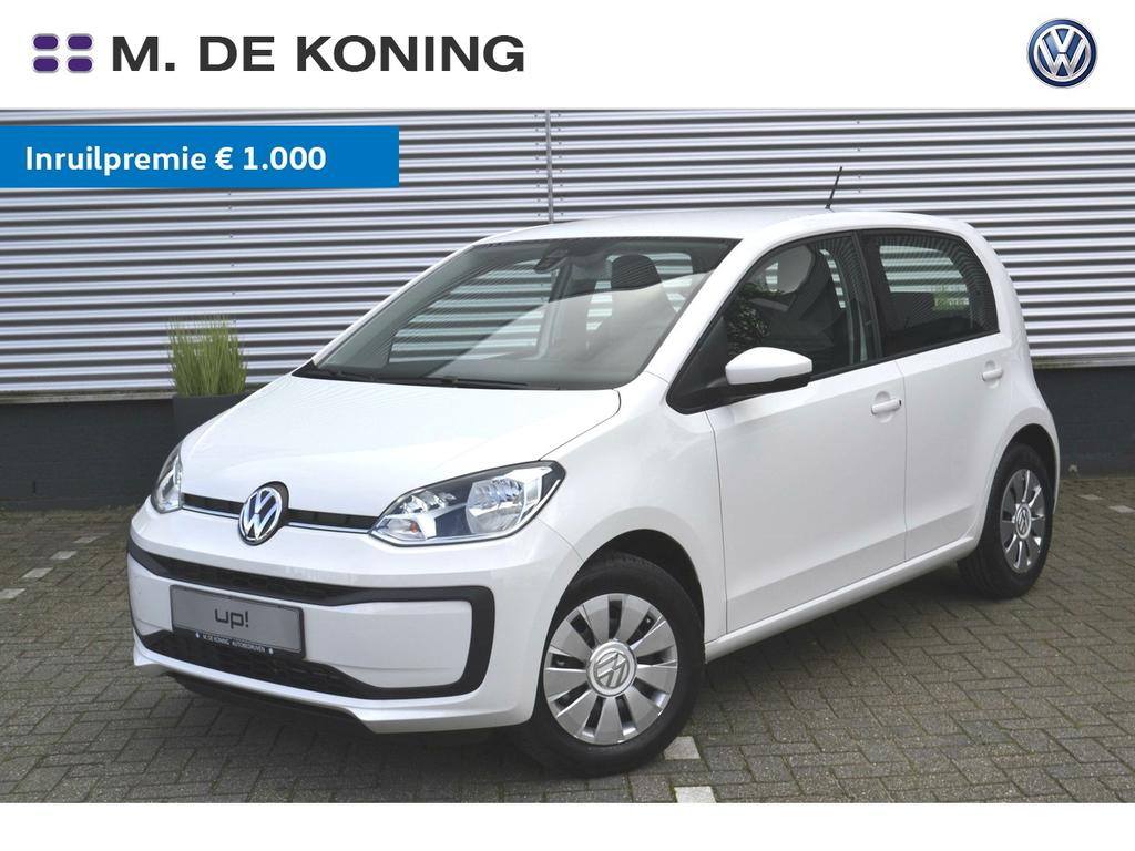 Volkswagen Up! 1.0/60pk move up! · regensensor · airconditioning · radio 'composition phone'