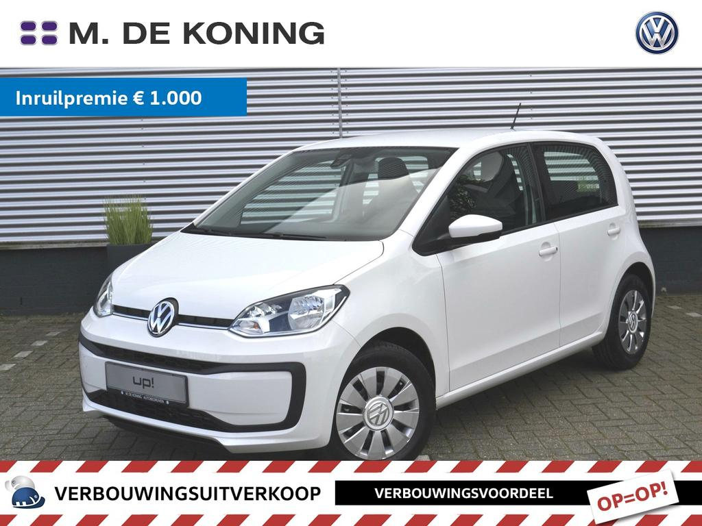 Volkswagen Up! 1.0/60pk move up! · regensensor · airconditioning · radio 'composition phone'